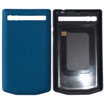 Picture of Porsche Design Leather Battery Door Cover for BlackBerry P'9983 (Blue Green)