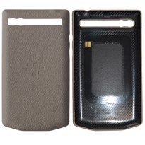 Picture of Porsche Design Leather Battery Door Cover for BlackBerry P'9983 (Paloma Grey)