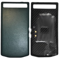 Picture of Porsche Design Leather Battery Door Cover for BlackBerry P'9982 (June Bug Green)