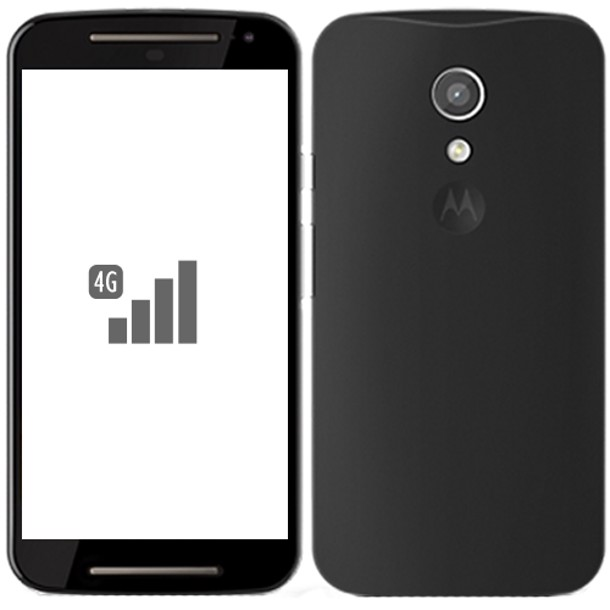 Motorola Moto G (2nd Gen ) XT1072 4G 8GB (Black)