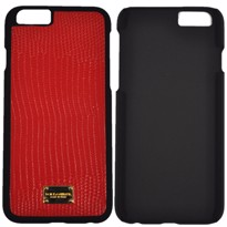Picture of Dolce & Gabbana Dauphin Calfskin Leather Hard Case for Apple iPhone 6 (Red)
