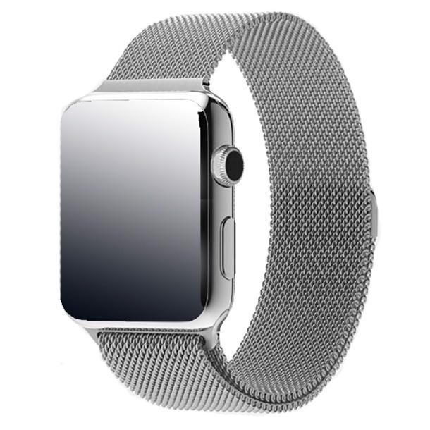Apple Watch Mj322ba 38mm Stainless Steel Case With Milanese Loop