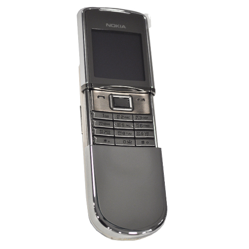 Picture of Nokia 8800D Sirocco 128MB Stainless Steel - Russian Keypad (Silver)