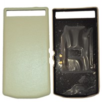 Picture of Porsche Design Premium Leather Battery Door Cover for BlackBerry P'9982 (Beige)