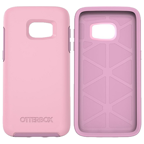 official photos 5e886 2d2d2 OtterBox Symmetry Series Case for Samsung Galaxy S7 Edge (Pink)
