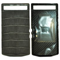 Picture of Porsche Design Crocodile Skin Leather Battery Door Cover for BlackBerry P'9982