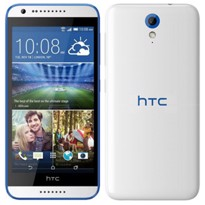 Picture of HTC Desire 620G 8GB Dual-SIM (Gloss White / Blue Trim)