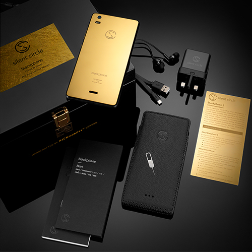 Picture of Blackphone 2 Luxury 24K Gold Limited Edition with Silent Phone + Silent World 2000