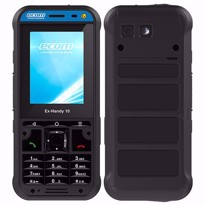 Picture of ecom Intrinsically Safe Ex-Handy 10 DZ1 4G/LTE feature Phone for for Zone 1/21 & DIV 1