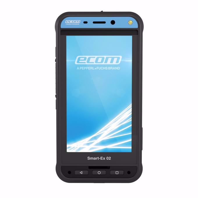 Picture of ecom Intrinsically Safe Smart-Ex 02 DZ1 Dual Sim 4G/LTE Smartphone for Zone 1/21 & DIV 1