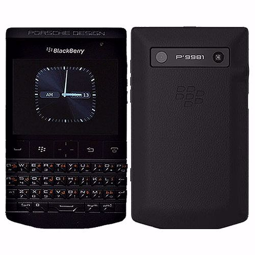 Picture of BlackBerry Porsche Design P'9981 8GB English QWERTY + Arabic Keypad (Black)