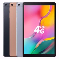 "Picture of Samsung Galaxy Tab A (2019, LTE) 64GB SM-T515N 10.1"" Wi-Fi + 4G/LTE Tablet [Black 