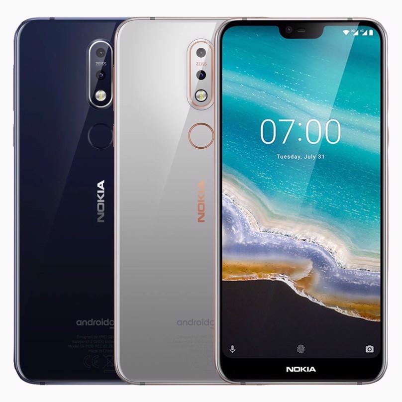 Nokia 7.1, 32GB, 4G, BRAND NEW, FACTORY UNLOCKED, Gloss Midnight Blue,  Gloss Steel, Gloss Steel], Nokia 7.1, Nokia 7.1 32GB [Gloss Midnight Blue,  OEM, SINGLE SIM | KICKmobiles®