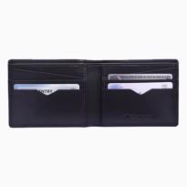 Picture of Silent Pocket BiFold Wallet Black Leather